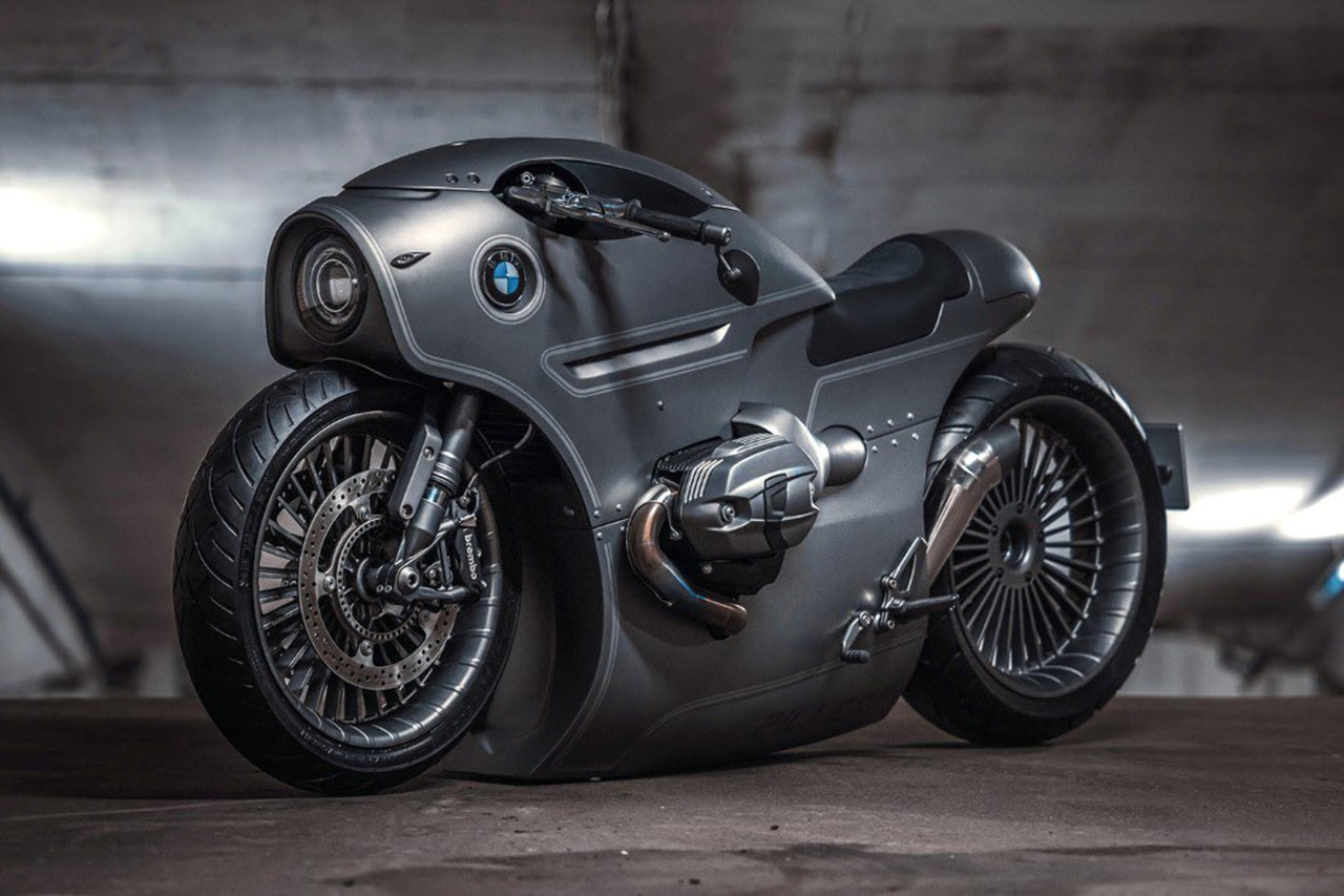 New BMW R9T with Steampunk and Post-Apocalyptic Style
