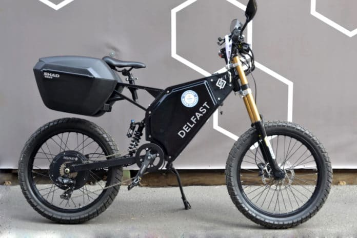 Delfast The Prime 2.0 is an electric bike with full range of 392 km.
