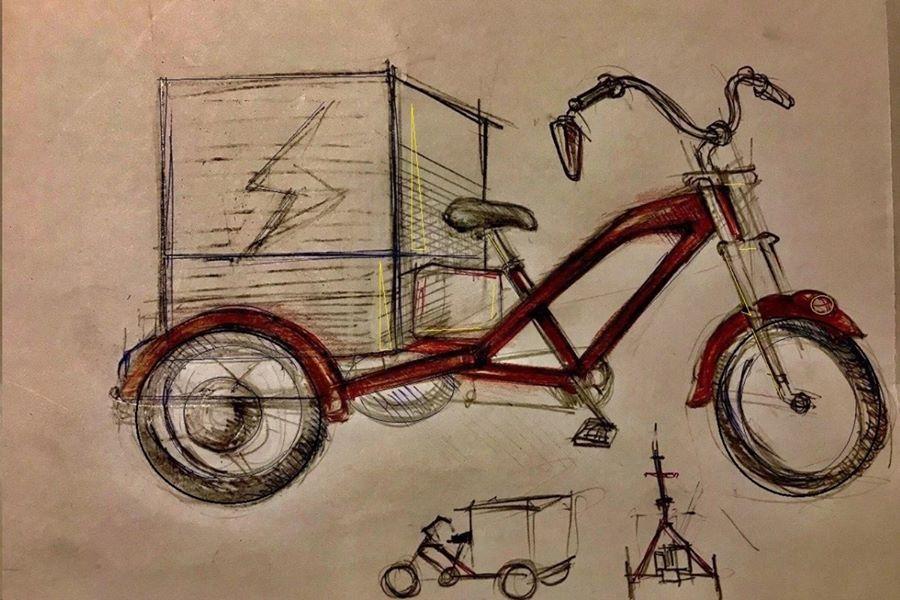 Delfast Trike design.