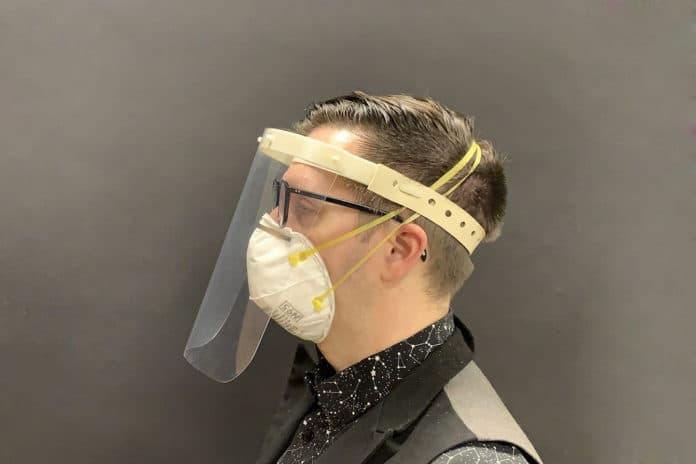 New COVID-19 face shields are easier to clean and safe to reuse.