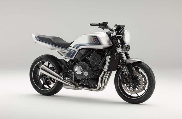 Honda CB-F Concept fuses cutting-edge tech with a trendy retro look