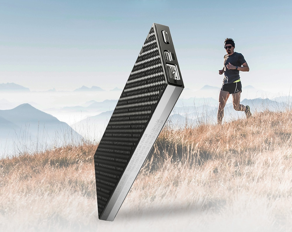 This ultra lightweight power bank is specially designed for Trail Runners.