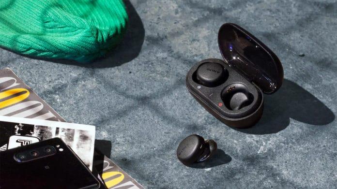 Sony's new truly wireless earbuds offer 9 hours of autonomy.