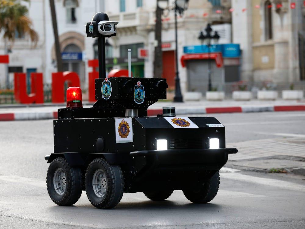 Tunisian P-Guard robot.
