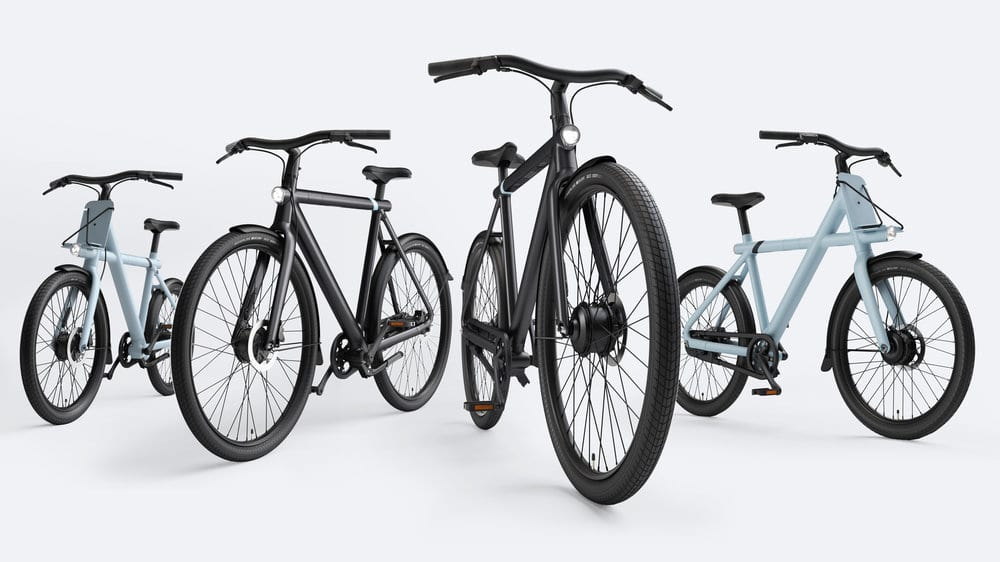 The VanMoof S3 and X3 are improved versions of the predecessors Electrified S2 and X2.
