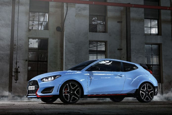 The new Veloster N.