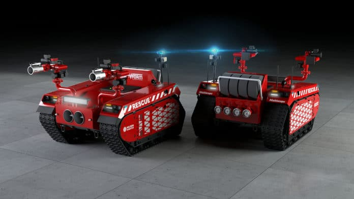 Firefighting robots to assist or even replace firefighters in dangerous environments.