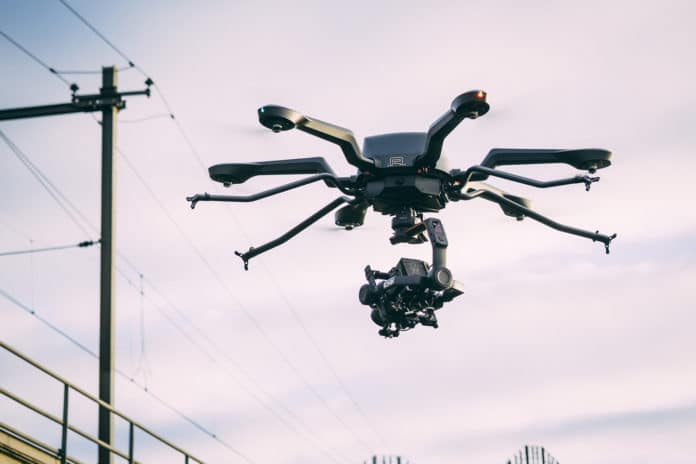 Acecore Noa, a heavy lifting hexacopter that can fly for an hour.