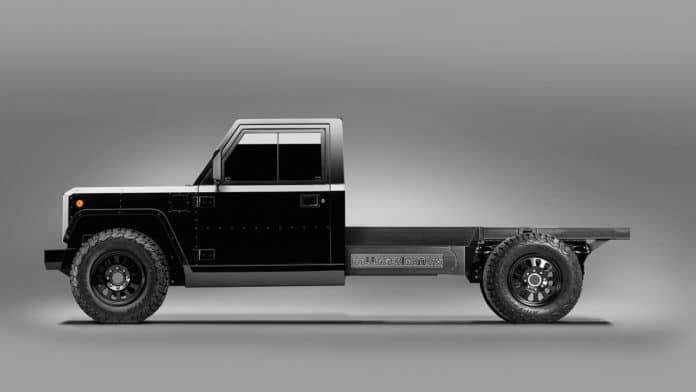 Bollinger Motors unveils all-electric B2 chassis-cab truck platform.