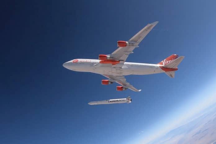 Virgin Orbit launch vehicle