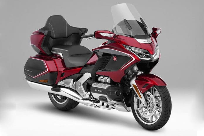 Honda Gold Wing motorcycle gains integration with Android Auto.