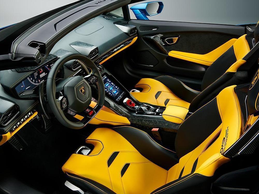 Huracán EVO RWD Spyder - Interiors
