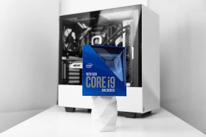 Intel's flagship Core i9-10900K processor.