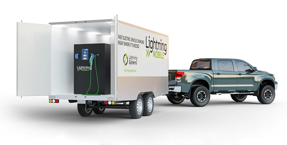 Lightning Mobile can be deployed in a trailer