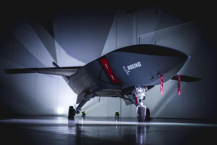 Boeing Australia has built the first of three Loyal Wingman aircraft.