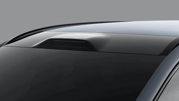 Luminar roofline LiDAR integration.