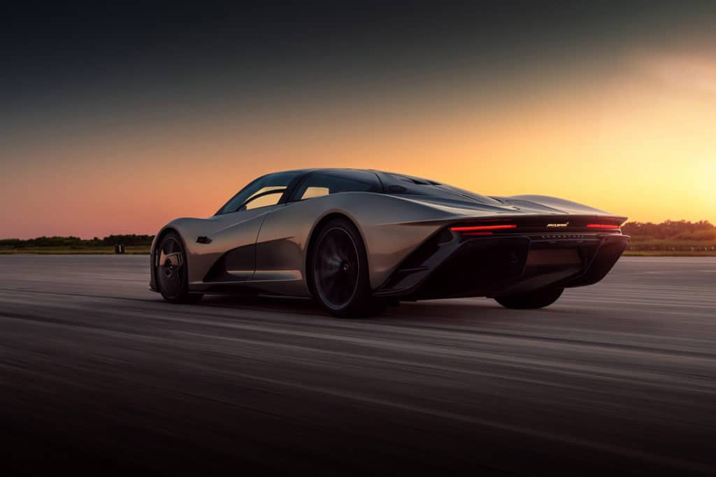 McLaren Speedtail has the highest specific battery power of any production road car