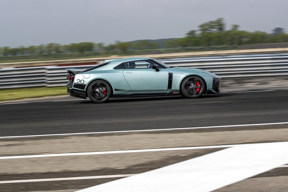 It's undergoing shakedown testing in Italy.