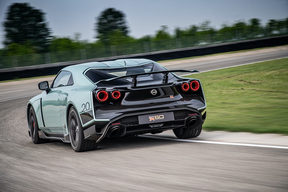 Nissan GT-R 50 rear