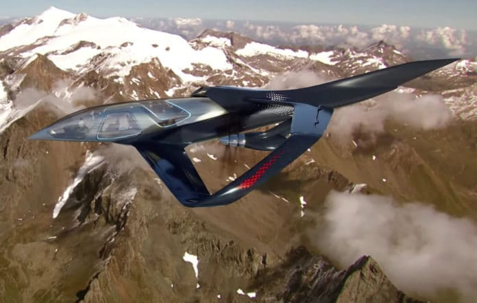 EmbraerX Pulse Concept combines the world of aviation with automotive.