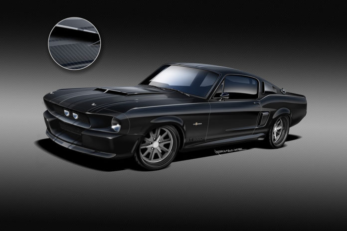 The world's first 1967 Shelby GT500CR Mustang with a carbon body.