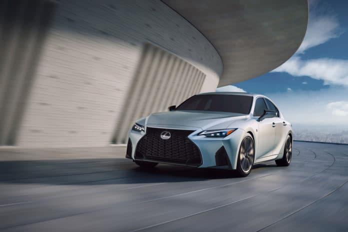 The New 2021 Lexus IS Sedan.