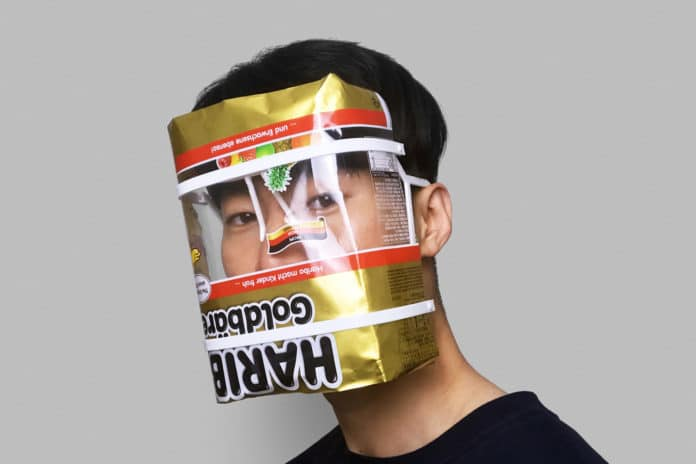 Innovative 'ANYTHING' face shield that you can make using anything.