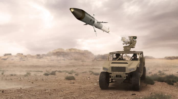 BAE Systems succeeds in first tactical configuration ground-launched test of APKWS laser-guided rockets.
