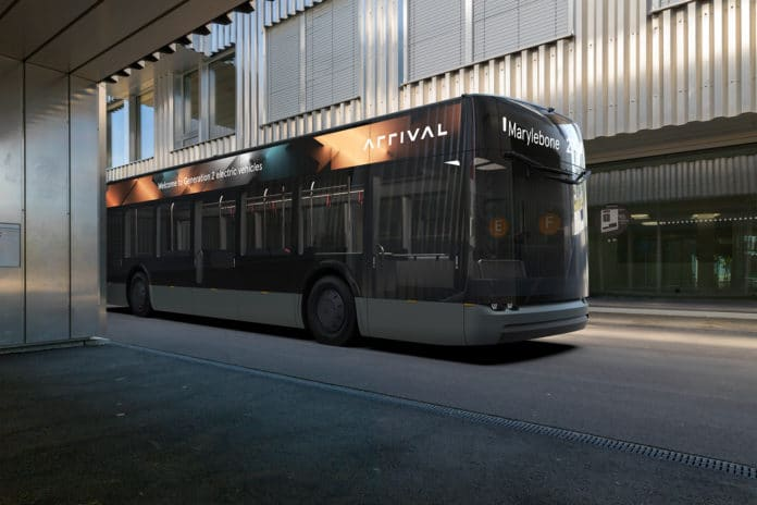 Startup Arrival introduced electric bus designed for a post-coronavirus era.