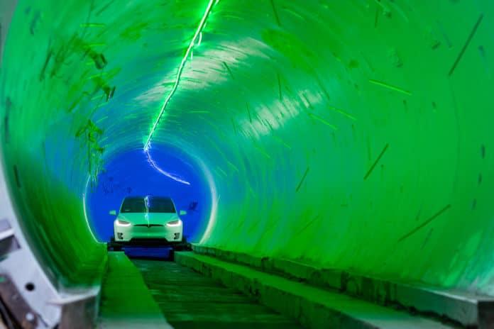 Boring-tunnel