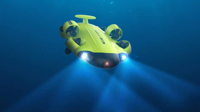 FIFISH V6, an underwater robot to discover the undiscovered.