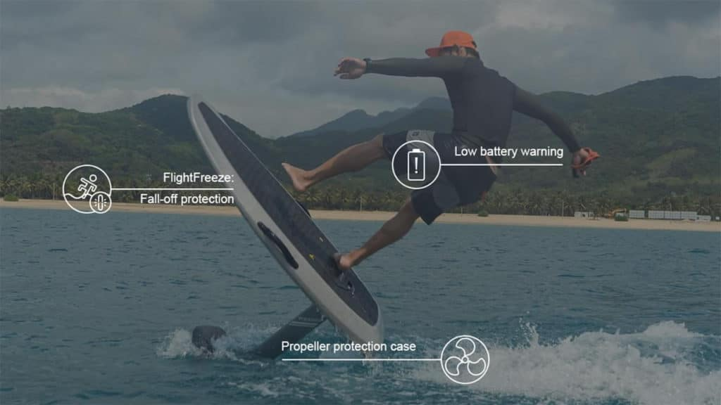 Waydoo Flyer ONE comes with superior safety features.