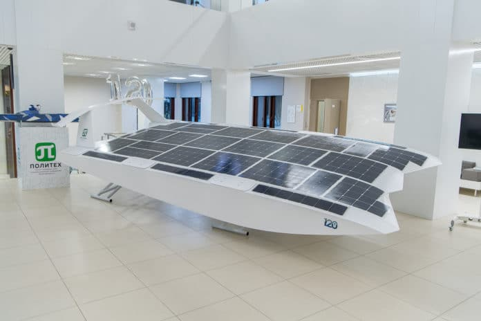 Russian engineers invented the first unmanned solar wing-in-ground-effect vehicle.