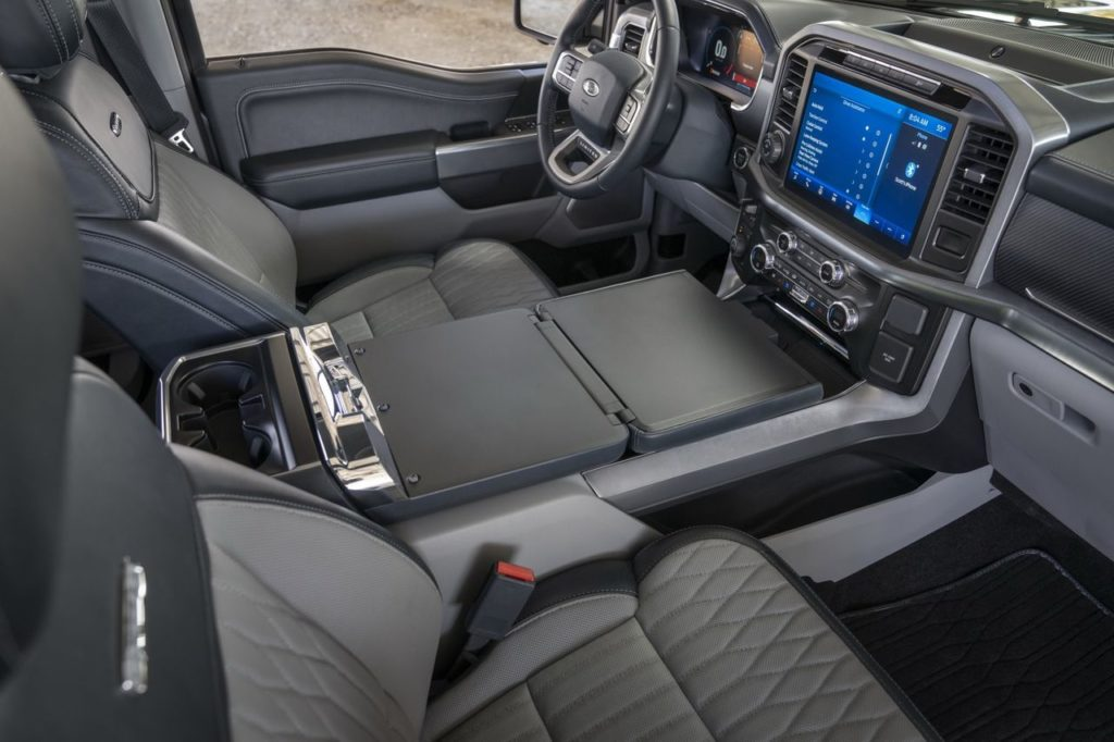 all-new interior provides more comfort, technology and functionality for truck customers