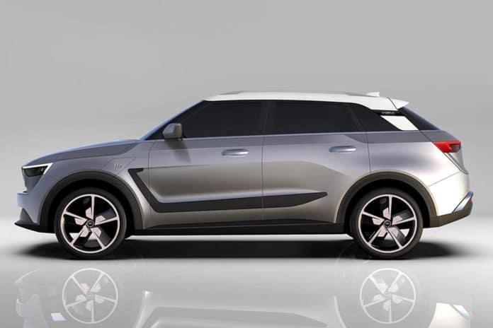H2X Snowy SUV.