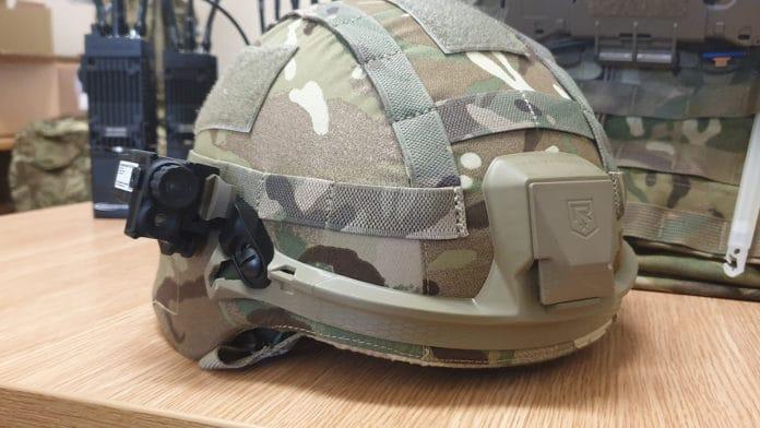 New helmet camera for enhanced tactical advantages.