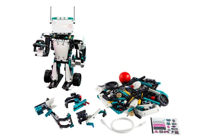Create your own robot with new LEGO MINDSTORMS Robot Inventor 5-in-1 set.