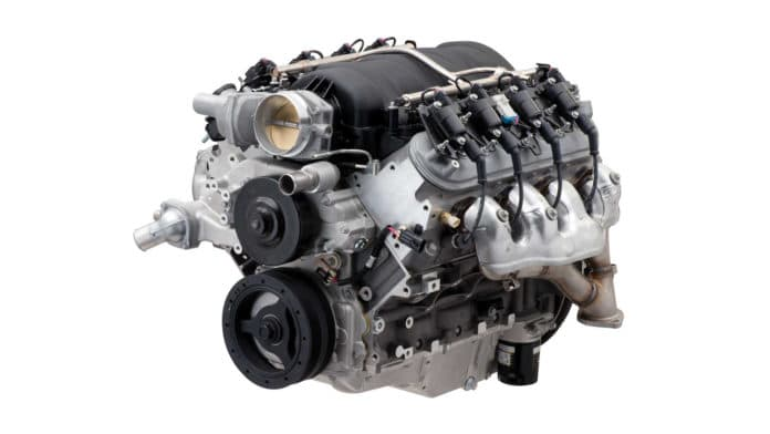 Chevy introduces new LS427/570 crate engine with 570 horsepower.