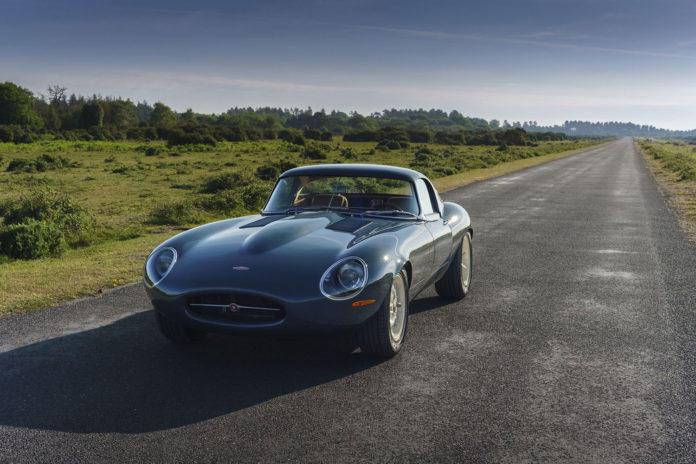 Eagle Lightweight GT, the modern reinterpretation of the Jaguar Lightweight E-Type