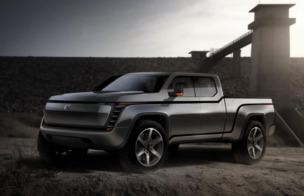 Endurance all-electric pickup