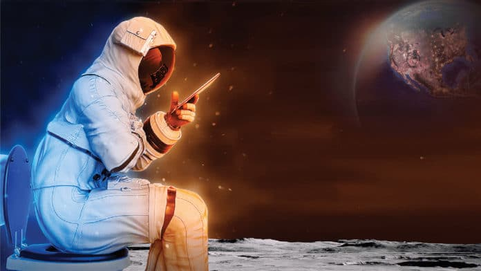 NASA seeks new designs for lunar toilet concepts.