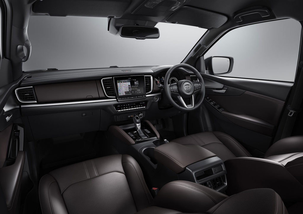 All-New Mazda BT-50 Interior.