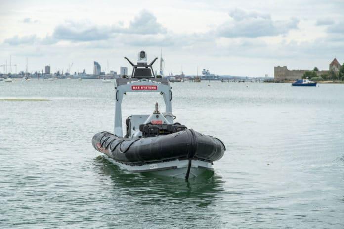 BAE Systems' Pacific 24 (P24) Rigid Inflatable Boat (RIB).