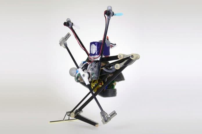 One-legged robot Salto-1P