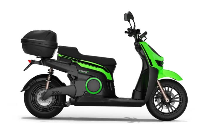 Silence S02 LS: a new more affodable, low-speed urban electric scooter.