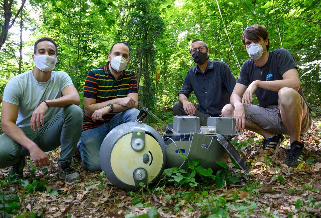 SlothBot research team at Atlanta Botanical Garden