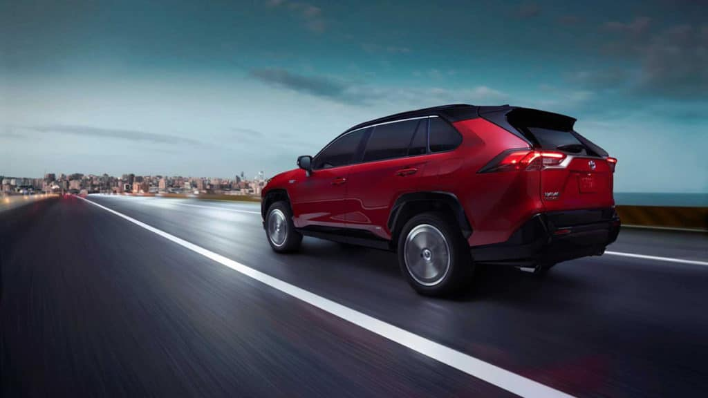 The RAV4's first-ever plug-in model has up to 302 horsepower.