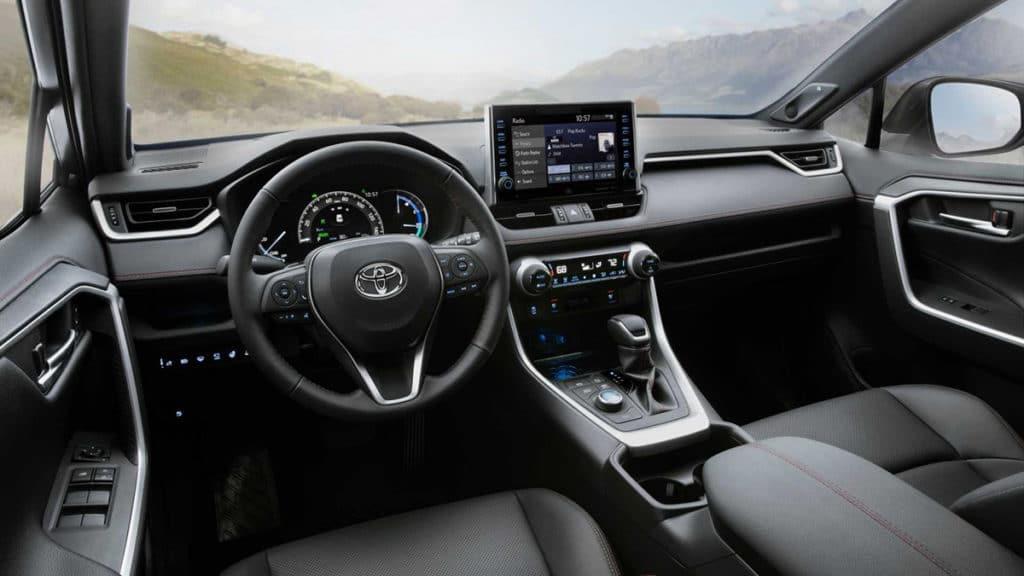 The 2021 Toyota RAV4 Prime Interior.