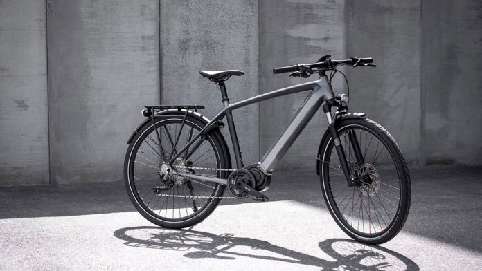Introducing Triumph's first electric bicycle, Trekker GT.