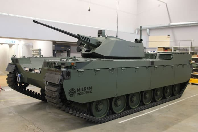 Type-X RCV with John Cockerill CPWS II turret.